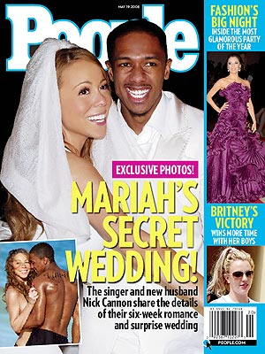 Nick Cannon and Mariah Carey in People mag…I confess I will